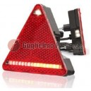 Fanale a Led triangolare dx c/retromarcia