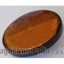 Catadiottro adesivo arancio Ø 60