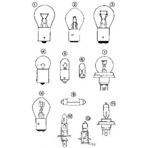 Lampada H 1 70 W 24 V