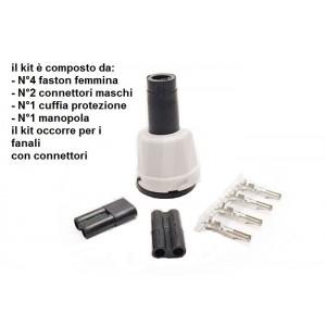 Kit componenti connessione per fanali