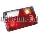 AJBA FP 80 - Fanale  sx grande con triangolo e luce targa