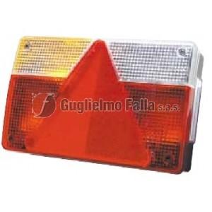AJBA FP 40 - Fanale sx piccolo con triangolo e luce targa
