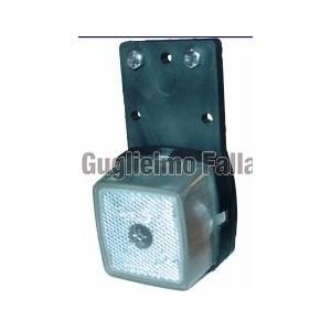 Fanale d'ingombro/posizione anteriore con base in gomma